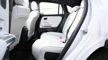Mercedes EQA SUV review rear seats