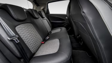 New Renault ZOE - rear seats