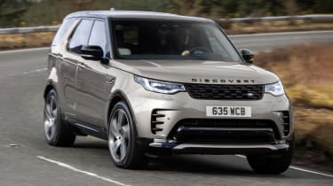 Land Rover Discovery SUV front cornering