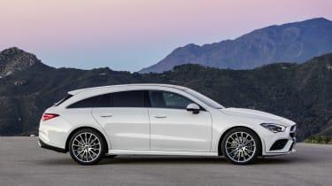 2019 Mercedes CLA Shooting Brake - side