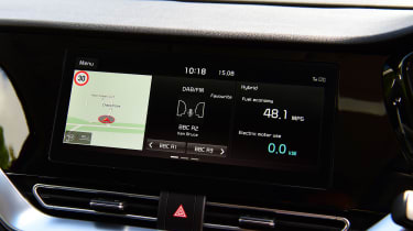 Kia Niro SUV infotainment display