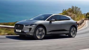 2020 Jaguar I-Pace - front 3/4 dynamic view
