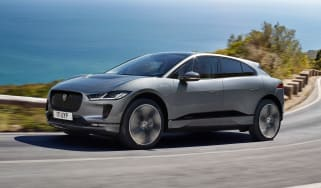 2020 Jaguar I-Pace - front 3/4 dynamic view