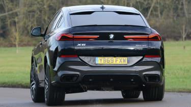 New BMW X6 2020 - rear 3/4 dynamic