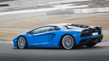 Show it a race track, though, and you'll be blown away by what the Aventador is capable of