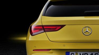 2019 Mercedes CLA Shooting Brake - rear close up