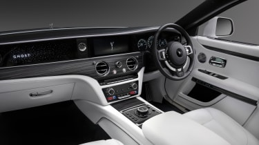 2020 Rolls-Royce Ghost - interior and dashboard