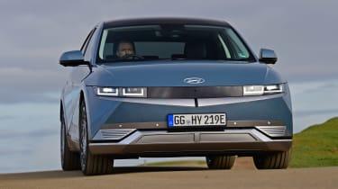Hyundai Ioniq 5 drive - front dynamic