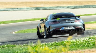 Mercedes-AMG GT R Pro rear cornering