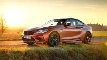 Orange BMW M2