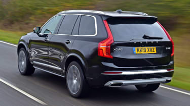 Volvo XC90 SUV rear 3/4 tracking