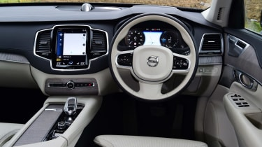 Volvo XC90 SUV interior
