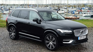Volvo XC90 SUV front 3/4 static