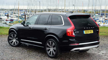 Volvo XC90 SUV rear 3/4 static