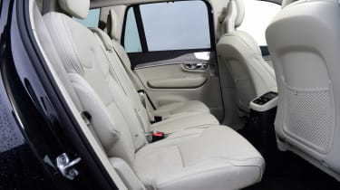 Volvo XC90 SUV second row seats