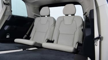 Volvo XC90 SUV third row seats