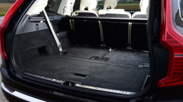 Volvo XC90 SUV boot seats folded