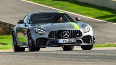 Mercedes-AMG GT R Pro front cornering