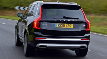 Volvo XC90 SUV rear tracking