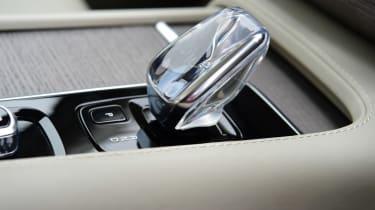 Volvo XC90 SUV gear selector